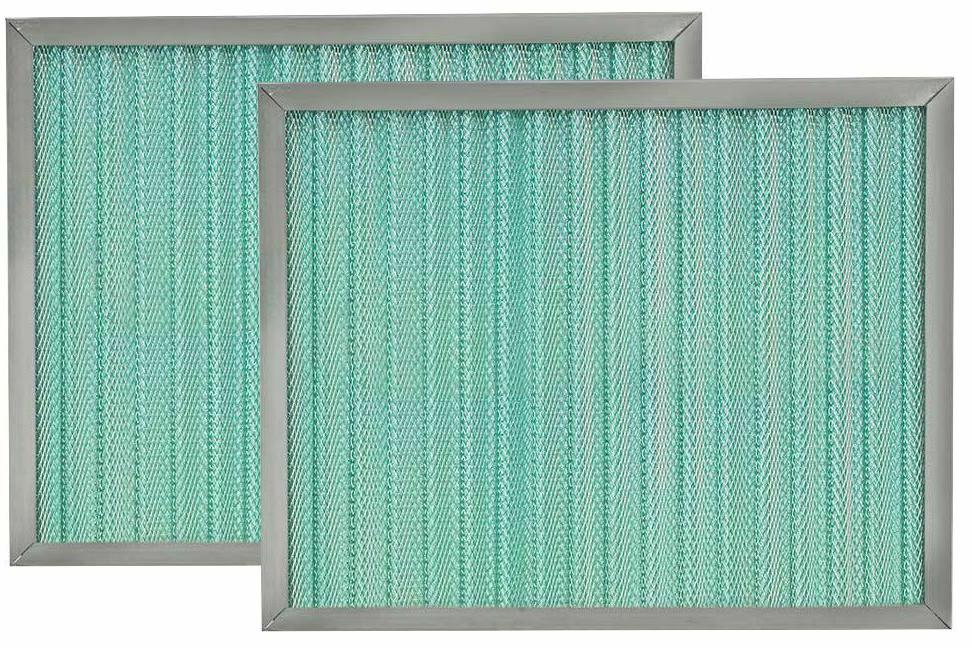 pleated permanent washable home air filter perm