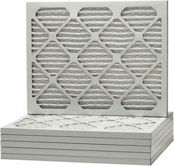 "2 Pack of 16"" x 24"" x 1"" Pleated Furnace Air Filter, MERV 8"
