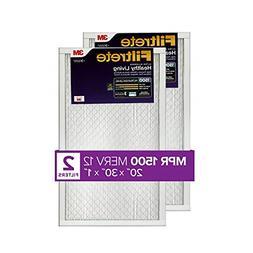MPR 1500 20x30x1 AC Furnace Air Filter, Healthy Living Ultra