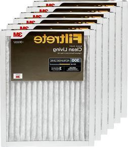 Filtrete MPR 300 12x20x1 AC Furnace Air Filter, Clean Living