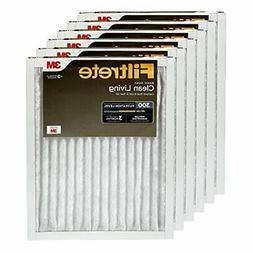 Filtrete 16x20x1, AC Furnace Air Filter, MPR 300, Clean Livi