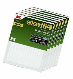 Filtrete MPR 600 16x25x1 AC Furnace Air Filter, Clean Living