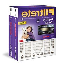 Filtrete 16x25x4, AC Furnace Air Filter, MPR 1550 DP, Health