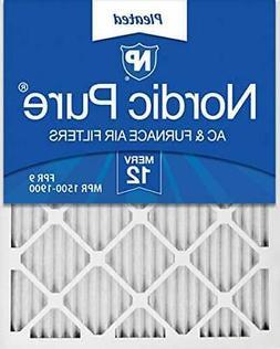 Nordic Pure 16x25x1 MERV 12 Pleated AC Furnace Air Filter, B